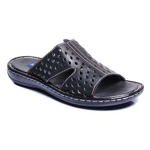 2f4b50edeb52 Leather Mens Designer Slipper, Size: 6-11, Rs 200 /pair | ID ...