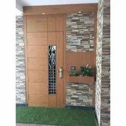 Wood Polished Wooden Designer Door