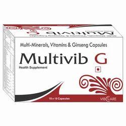 Multi Minerals, Vitamin & Ginseng Capsule