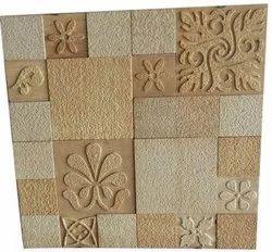 Teakwood CNC Mosaic Tiles