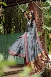 Designer soft cotton saree