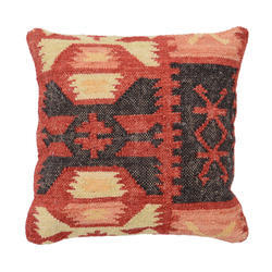 Decorative Jute Cushion Cover