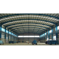PEB Steel Industrial Shed for Factory