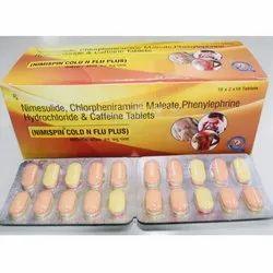 Nimesulide Chlorpheniramine Maleate Phenylephrine Hydrochloride And Caffereine