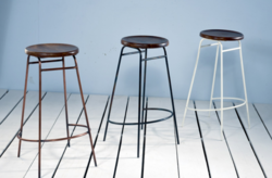Industrial Schillers Cafe & Bar Stool