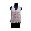 Plain Polyester Cotton Surplus Ladies Top