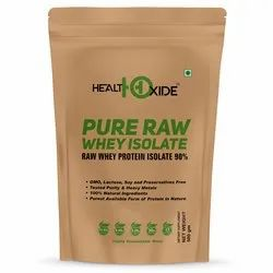 HealthOxide Pure Raw Whey Isolate 90% 500 gm