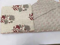 Floral Printed Reversible Cotton Dohar