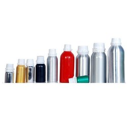 Plastic Threaded Aluminum Bottles