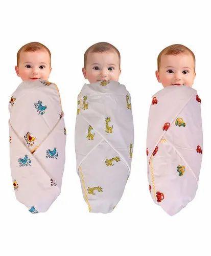Hand Block Print Baby Wrap