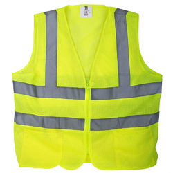 GUARDS Green Reflective Safety Vest, for Construction