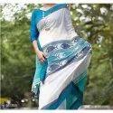 Kantha Stitch Handloom Silk Saree
