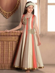 ethnic wear kids gown Ethnic Kids Girls Gown