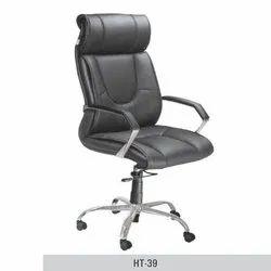 Black Adjustable Director Chair