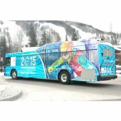 Bus Branding Service, Mode Of Advertisement: Offline