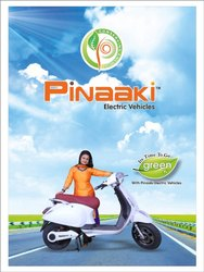 PINAAKI BATTERY OPERATED ELECTRIC SCOOTER'S, 5 Amp