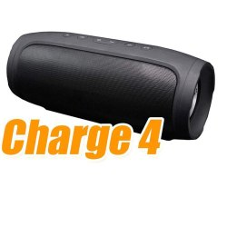Black Rectangular Charge 4 Wireless Portable Mobiles & Tablets Bluetooth Speaker, Packaging Type: Box, 1-3 kg