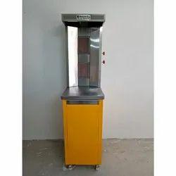 Shawarma Machine Double Burner Gas Type