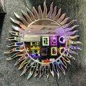 decorative mirror sun desing