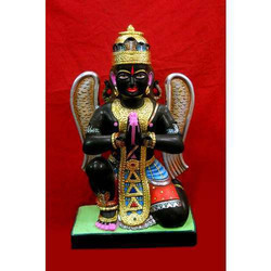 Black Marble Garuda Statue