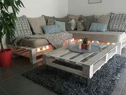 Pallet Furniture for Modern Interior and Outdoor Concept