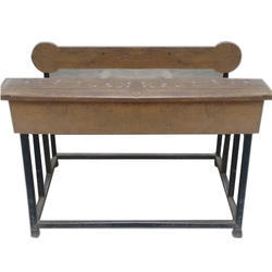 2 Seater Dual Desk Bench