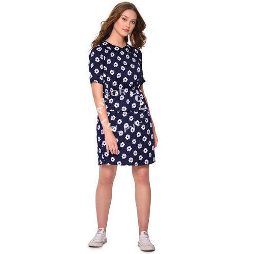 f79041b7f1 Ladies Printed One Piece Dress