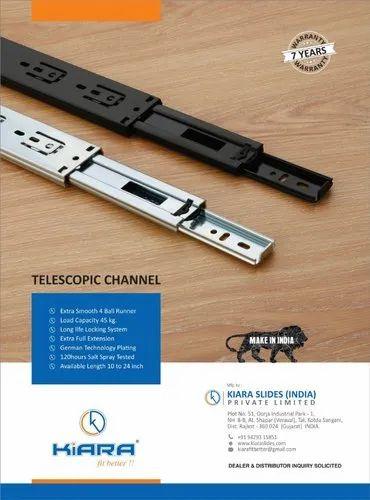 Telescopic Drawer Slide Channel