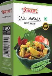 Shyam Sabji Masala, Packaging Size: 100 G, Packaging Type: Box