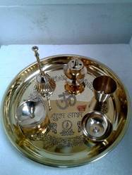 Brass Puja Thali Light Weight (Fixed)