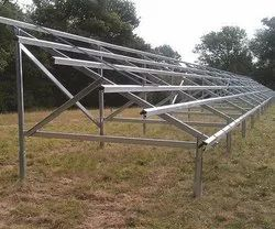 Solar Panel Mounting Frame Structure