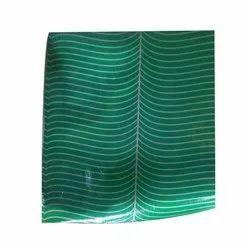 Printed Green Banana Leaf Paper Plate Sheet