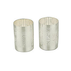 Water Silver Glasses