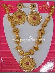 PRESYE Fancy Necklace Set with Earrings