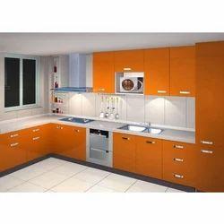 Midhun Stainless Steel Modular Kitchen