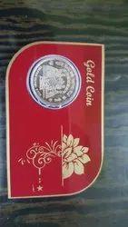 Gold & Silver Coin Card