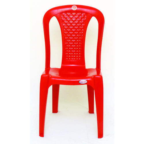 Red Large Plastic Chair Usage Indoor Outdoor Rs 380