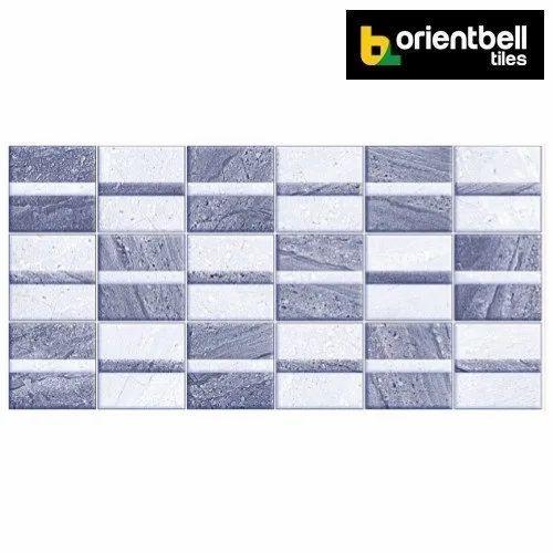 Orientbell Odh Bohmia Geo Hl Glossy Digital Wall Tiles Size