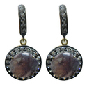 Silver Gems Earring