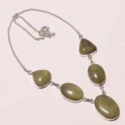 Rayna Jewelry Overlay Handmade Necklace