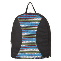 KI3576A Canvas Backpack