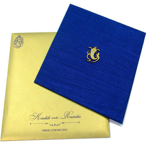 Royal Indian Wedding Card