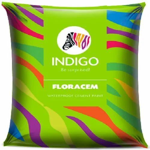 Indigo Waterproof Cement Paint, Packaging Type: Bag, Packing Size: 40 Kg