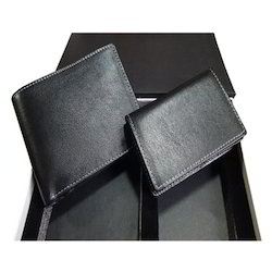 Black Leather Gift Set