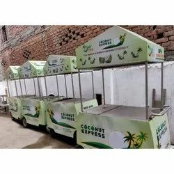 Coconut Water Vending Cart