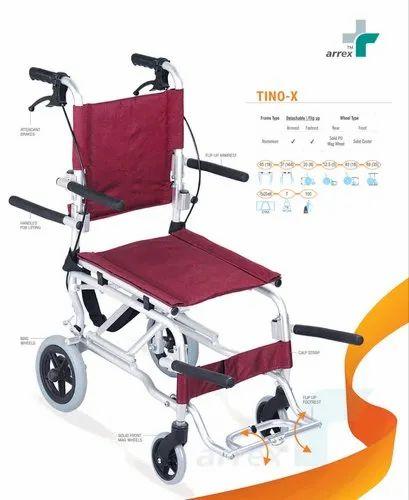 TINO-X Compact Aluminium Wheelchair