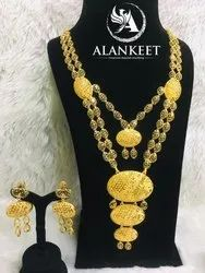 Gold Plated Haram Necklace