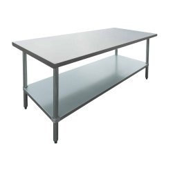 Stainless Steel Flat Top Work Table