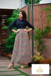 Jaipuri Cotton Printed Kurti