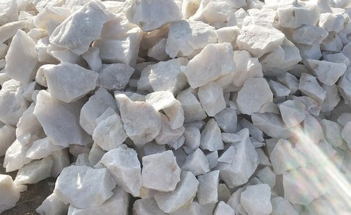 Snow White Quartz Lumps Grade:1